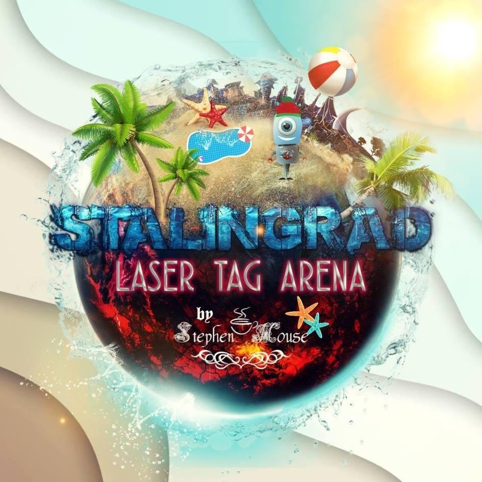 laser tag arena logo